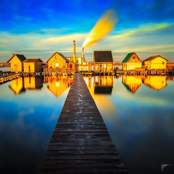 -Morning steps to home- by Janek-Sedlar