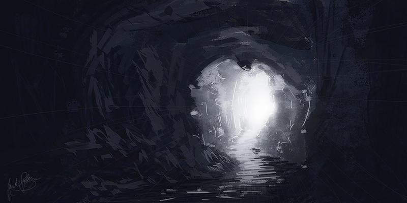 -Calling of light- speedpaint by Janek-Sedlar