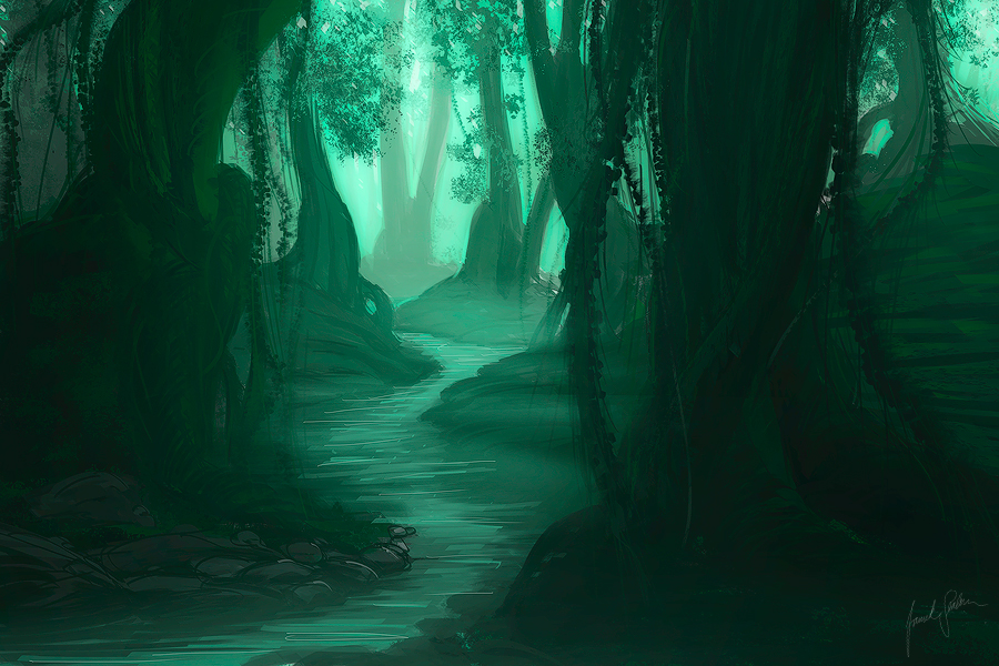 -Dark forest- by Janek-Sedlar