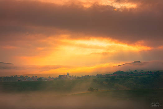-Opening the new day in Moravia-