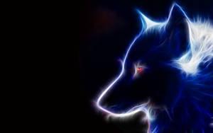 glowing wolf by HarunoSakura343
