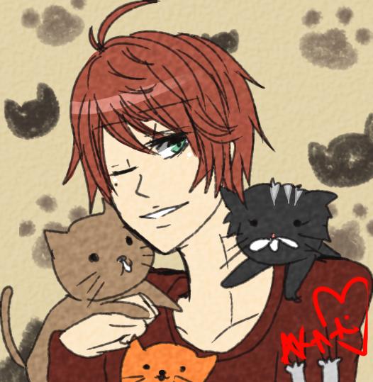 I love cats by Aka-Ai