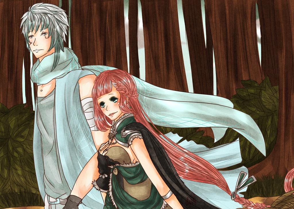 IL- Shade and Liliane by Aka-Ai