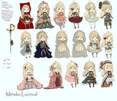 [WIP 3] Miiru Outfits by Aka-Ai