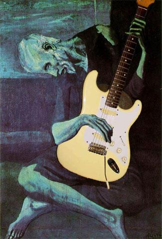 Picasso + Fender by mysamsara