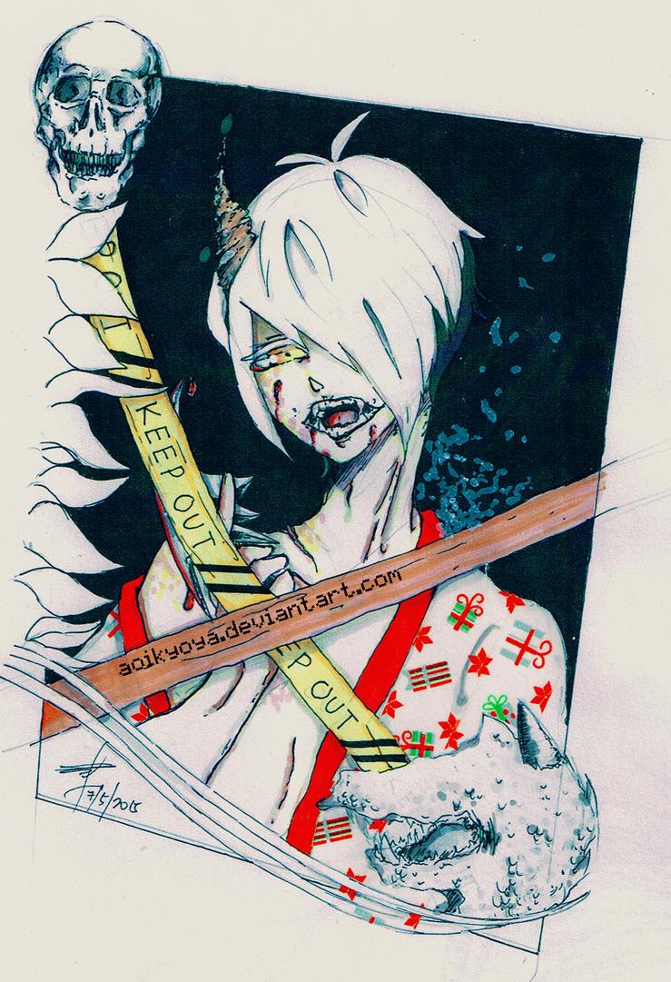 Fallen Oni by AoiKyoya