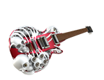 Necromuse 3D Printed Electric Guitar