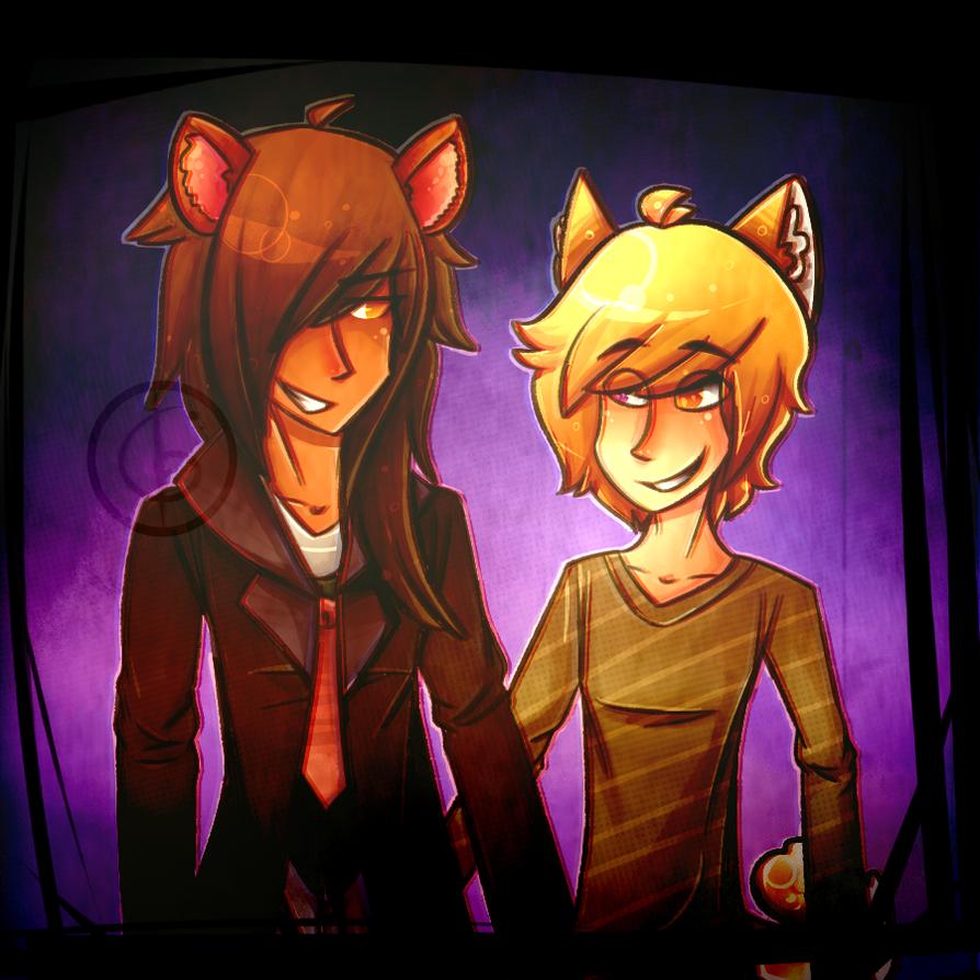 [COMM]: Delvin and Saku by Drakoko