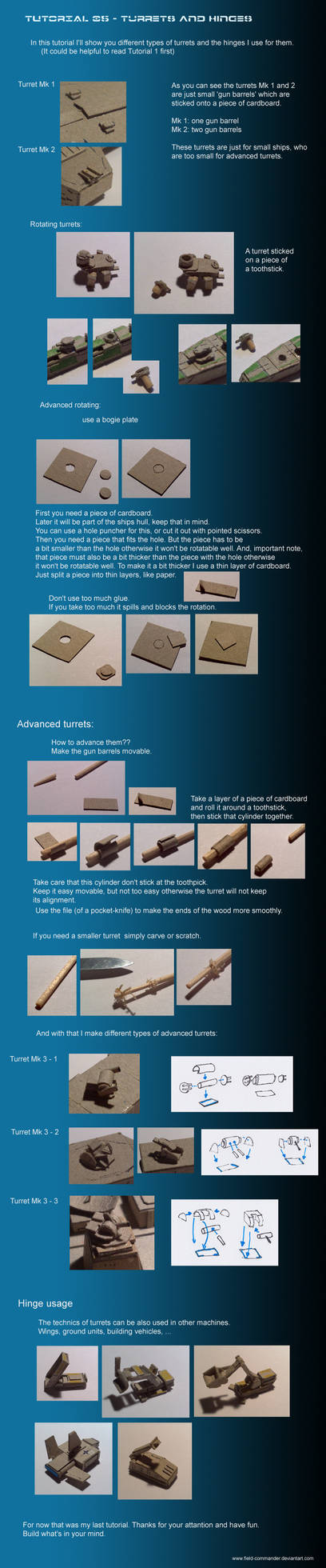 Tutorial 05 - Turrets and Hinges
