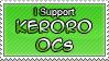 Keroro OC Stamp by IrkenSnax