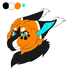 Premade Head Design 1 by Xenodragon11Crafts