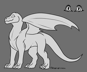 F2U Dragon Base by Xenodragon11Crafts
