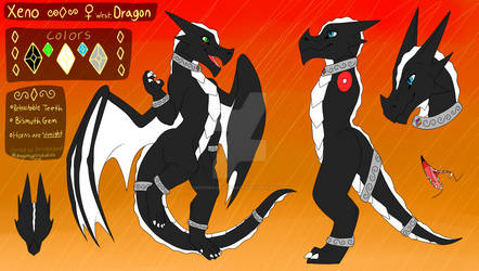 Xeno the Dragons Reference Sheet