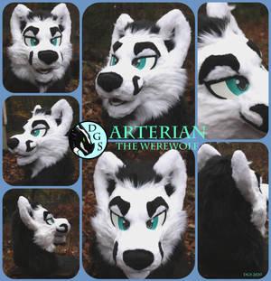 Arterian The Werewold Fursuit Head