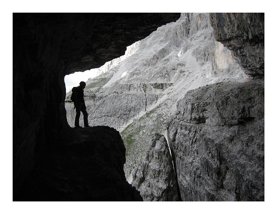 Alpini path - the famous spot