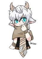 Art Trade: Young Flower by TroyOwO