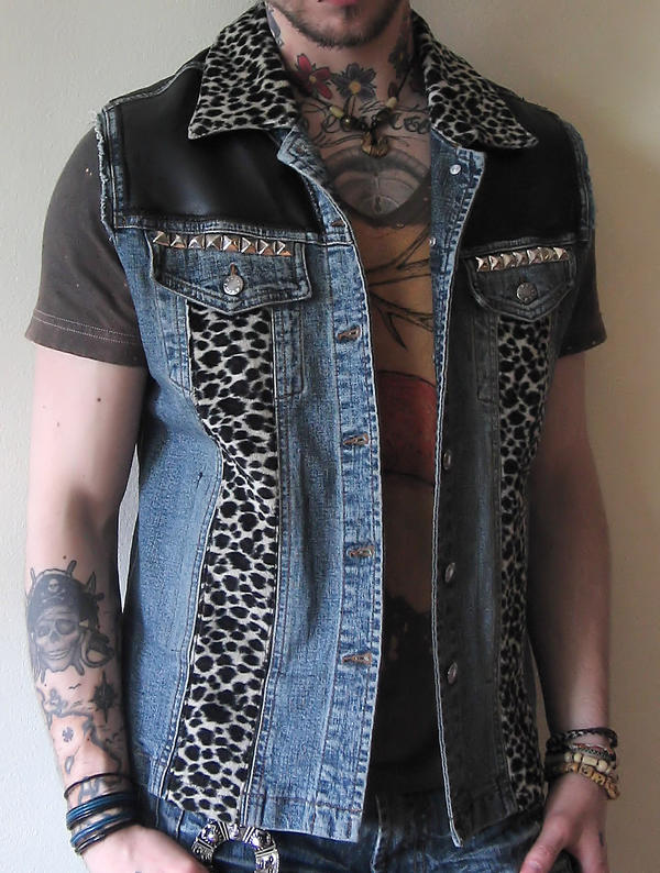 Punk Vest by king--of--hearts