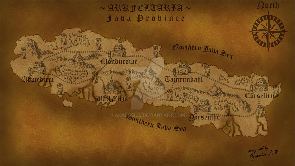 Arkfeltaria - Java Province by Akarasius