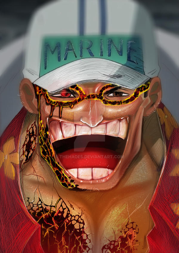 Akainu Sakazuki Marine by thehades