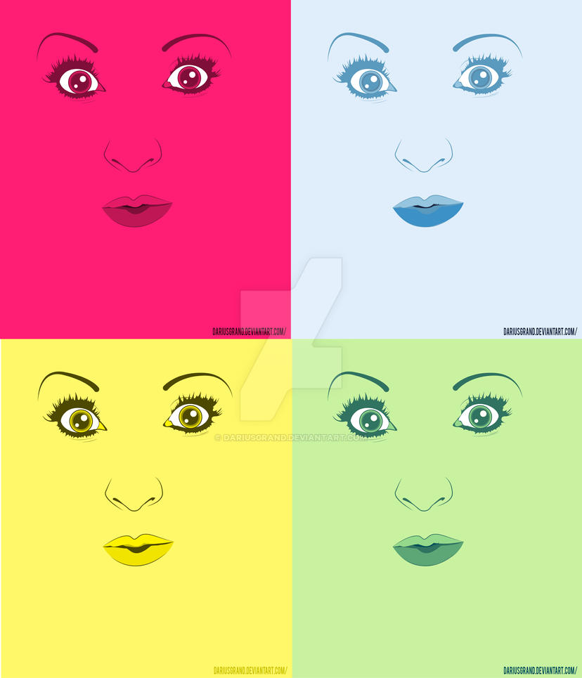 Pretty In Multi colors by dariusgrand