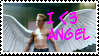 X-Men Angel Stamp by scoots