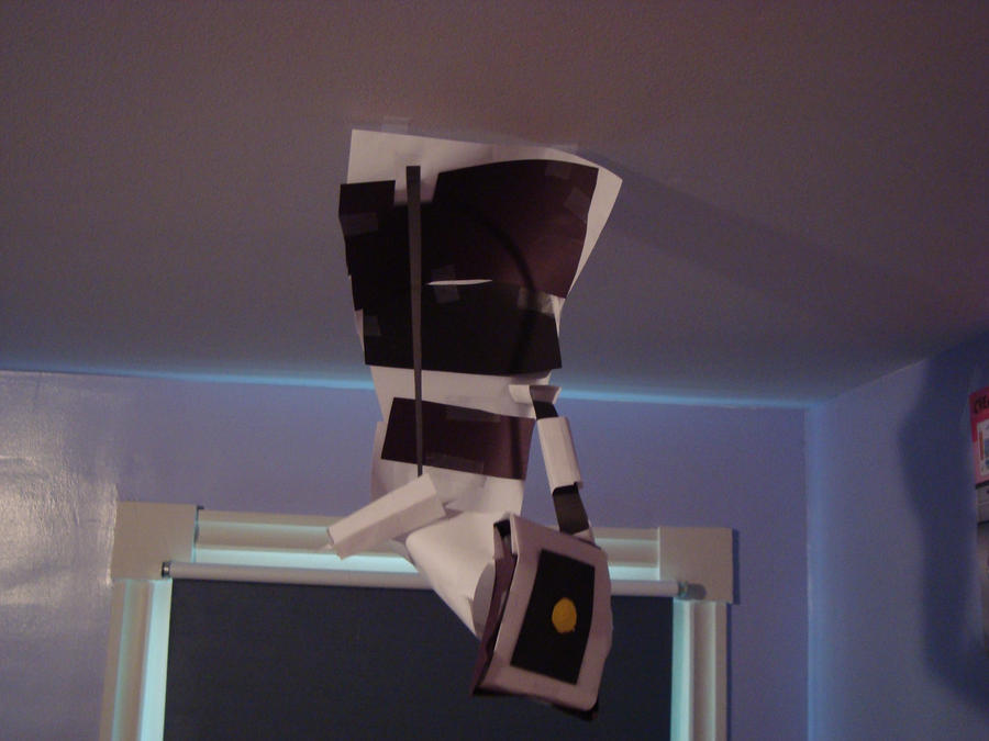 GLaDOS Papercraft by GarSkutherGirl
