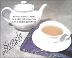 Haiku card : Simple Pleasures by InsomniaDoodles