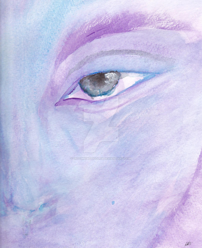 My first time with watercolor by insomniadoodles on deviantart for My first watercolor painting