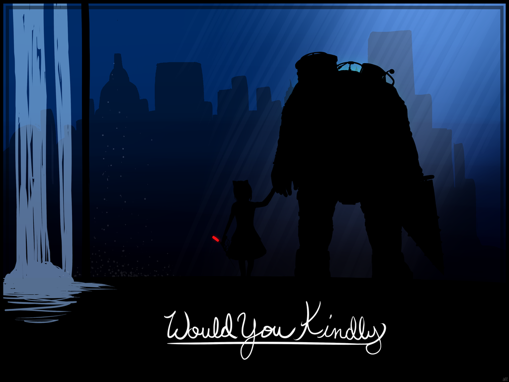 Would You Kindly - Bioshock by CrypticGrin