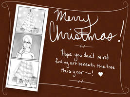Christmas Card 2014 by InsomniaDoodles
