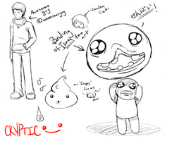 Random fan art doodles by InsomniaDoodles