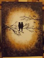Love Birds by InsomniaDoodles