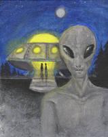 Visitors by InsomniaDoodles