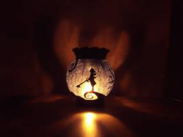 Kingdom Hearts lantern by InsomniaDoodles