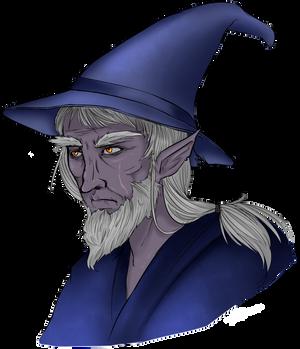 Half-Drow Wizard