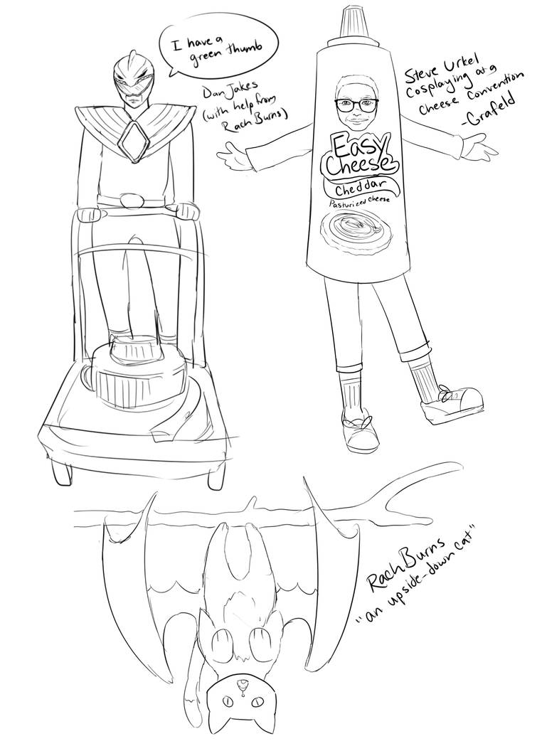 Stupid Doodles - The result of my Livestream 5-15 by InsomniaDoodles