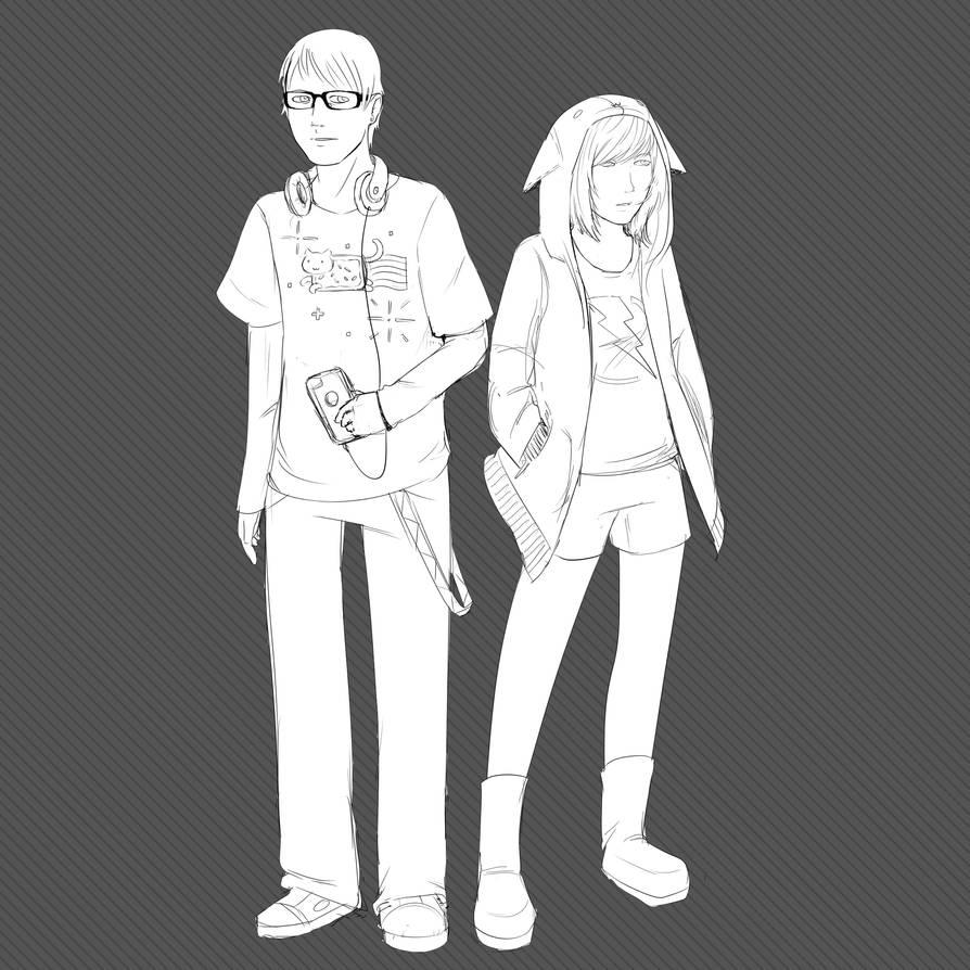Duo by InsomniaDoodles
