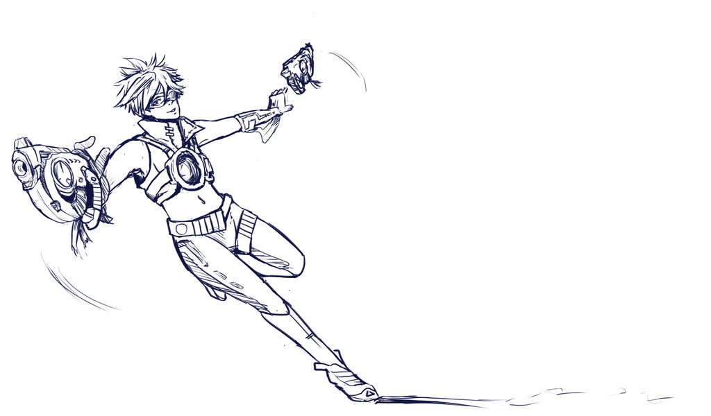 Tracer by InsomniaDoodles