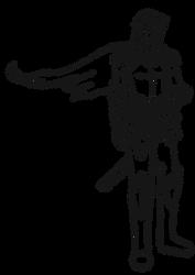 Doodle Bucks Redemption :: TheErikkuBlade by InsomniaDoodles