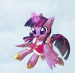 Twilight Sparkle and Winter