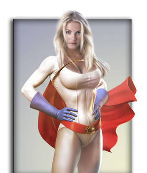 Power Girl -Colored-