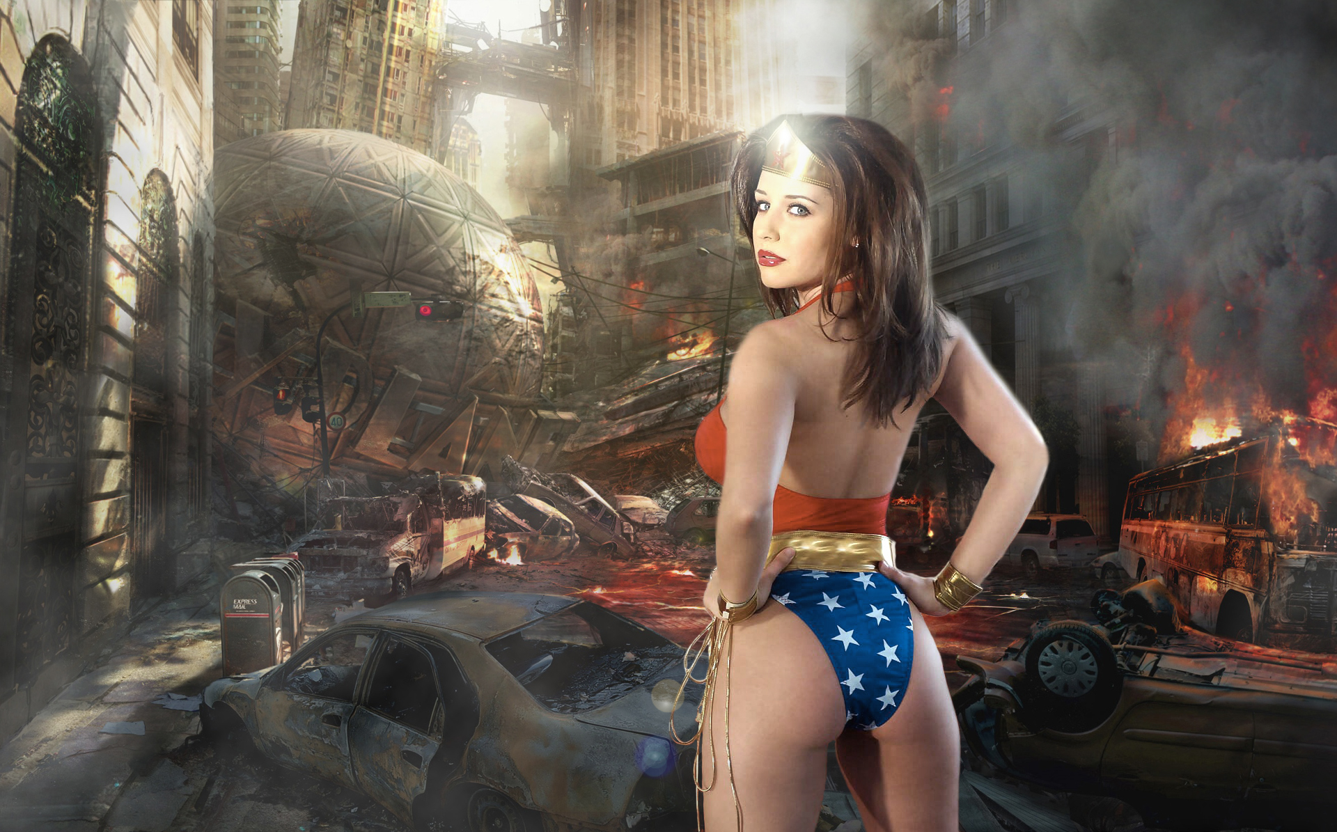 Wonder Woman by terridol