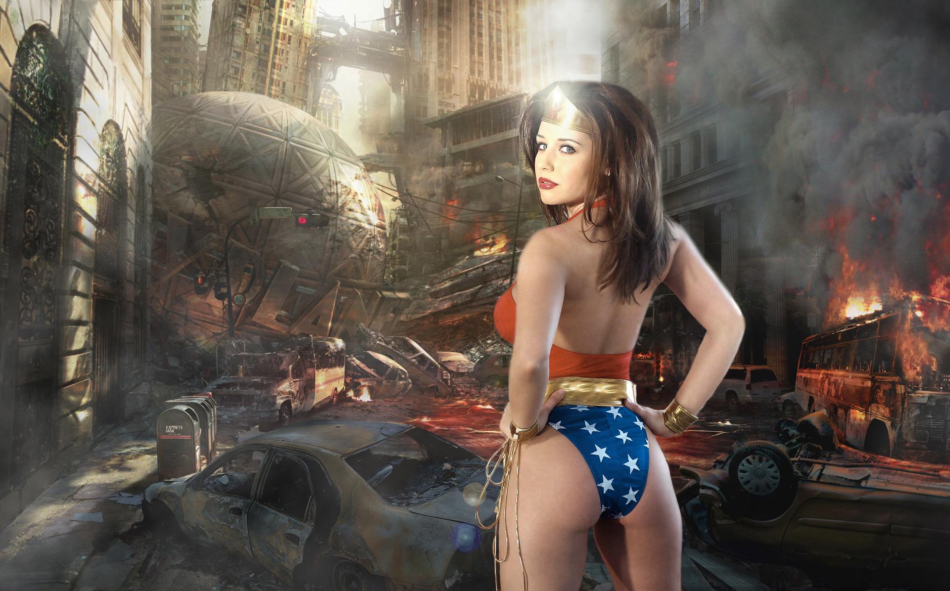 Wonder Woman by terridol