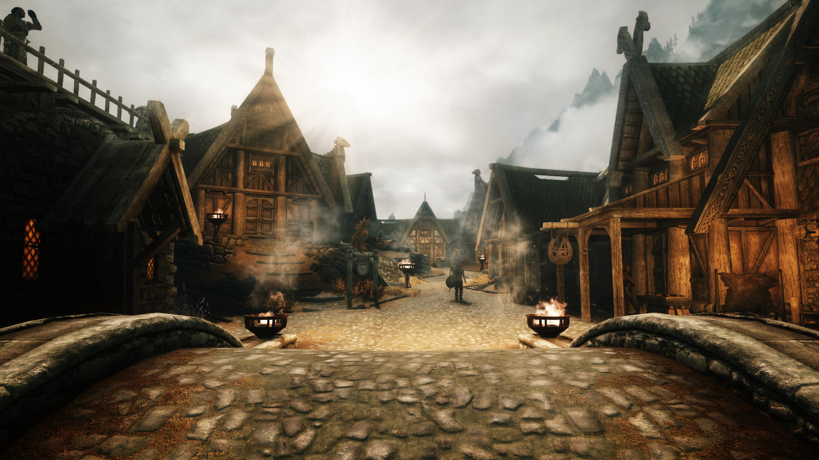 House Design Games For Pc Free Download Sunrise At Whiterun By Terridol On Deviantart