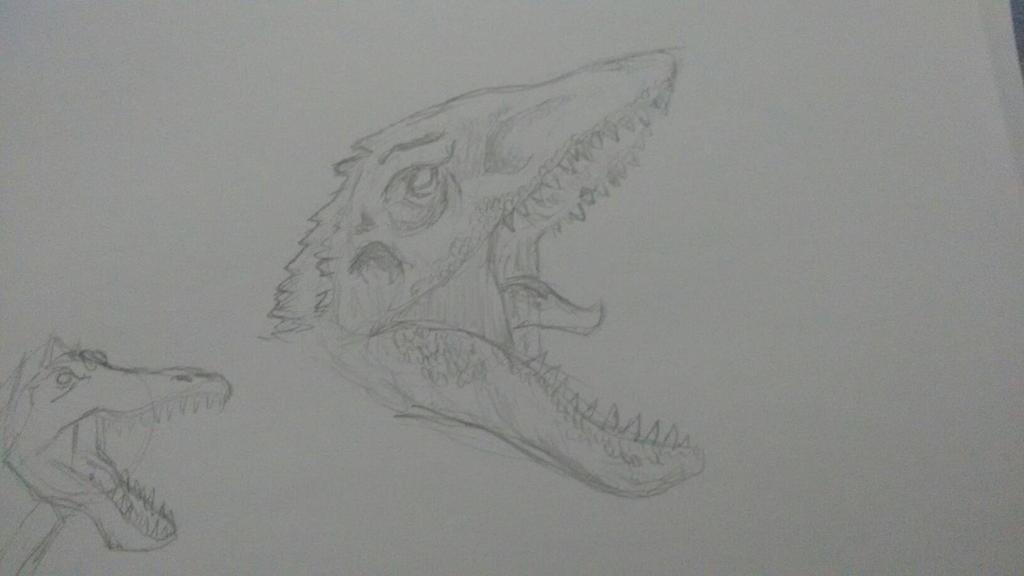 Indominus Rex  by Diego9180
