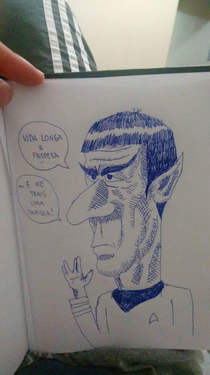 Spock by Diego9180