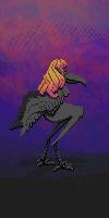 dark crow harpie by BluE3