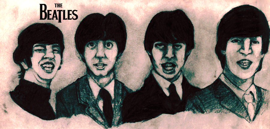 The 39 young 39 beatles by rawrboom on deviantart for Aw dang asian cuisine