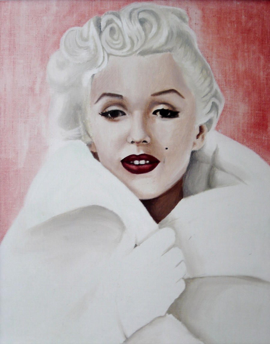 Pink Marilyn Monroe by pin-up on DeviantArt