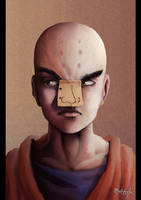 Krillin Portrait by 0Galath0